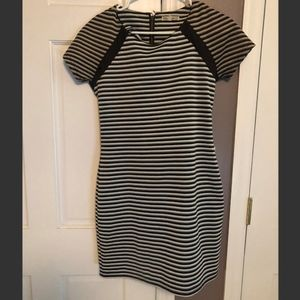 Bodycon Striped Dress (Lucca Couture)